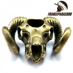 Ram Skull Bronze Massif