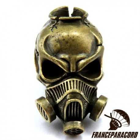Gas Mask Bronze Massif