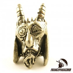 Pewter USN Tactical Goat Bead