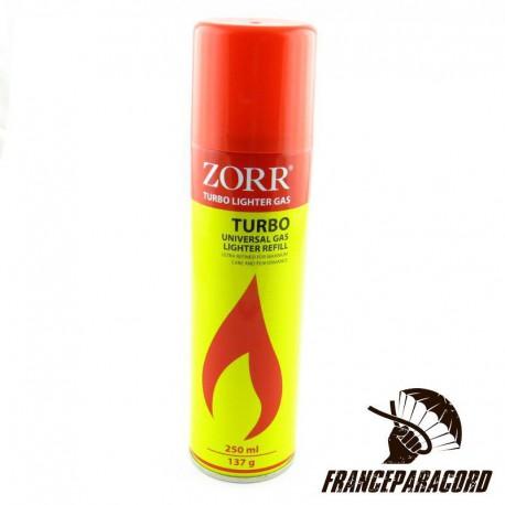 Recharge de Gaz Turbo Zorr - 250 ml