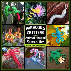 Paracord Critters: Animal Shaped Knots & Ties (LIVRE EN ANGLAIS)