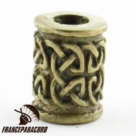 Perle celtique bronze massif