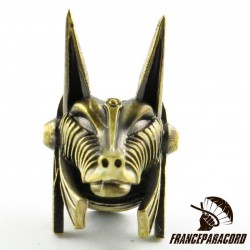 Solid Bronze Anubis