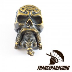 Bearded Skull Solid Bronze