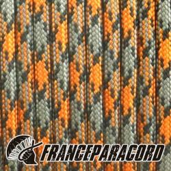 550 Paracord - Orange Grey