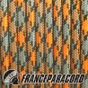 Paracord 550 - Orange Grey