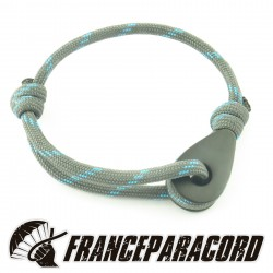 Bracelet with solid stainless steel rope Thimble
