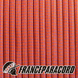 Molten Orange Changing Color 550 paracord