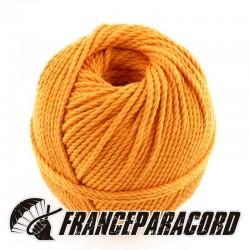 Aged orange cotton