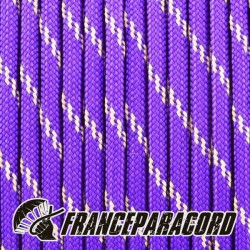 Paracord 550 - Acid Purple réflective