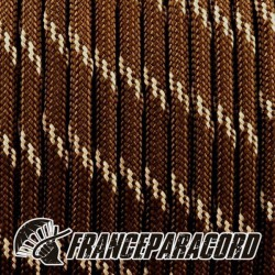 Paracord 550 - New Brown réflective