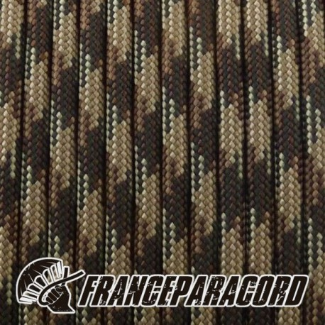 Paracord 550 - Brown Camo