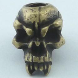 Tête de mort Fang Roman Brass