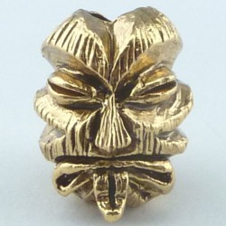 Tête Kiko Tiki Antique 18K Gold