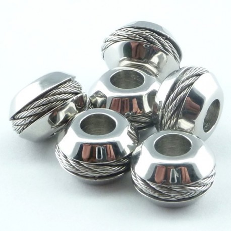 Perle conique inox 304L
