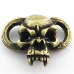 Fang lacet & bracelet Roman Brass