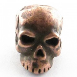 Tête de mort Classic Roman Copper