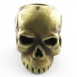 Tête de mort Classic Roman Brass