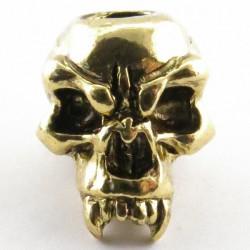 Tête de mort Fang Antique 18K Gold