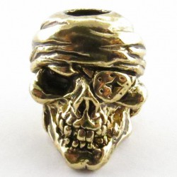Tête de mort Pirate Antique 18K Gold