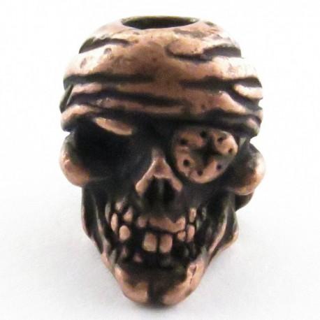 Tête de mort Pirate Roman Copper