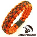 Stitched survival bracelets